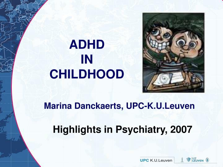 adhd in childhood