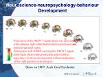 neur oscience neuropsychology behaviour development1
