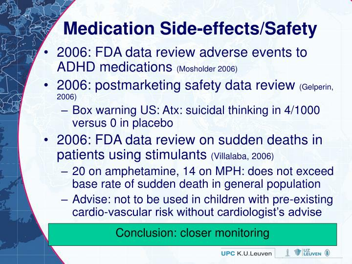 Medication Side-effects/Safety
