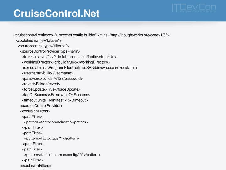 CruiseControl.Net