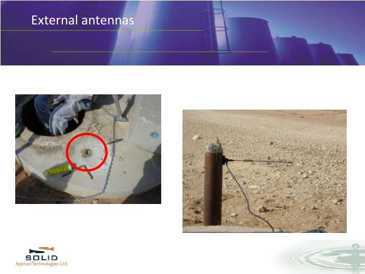 External antennas