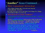 another jesus continued