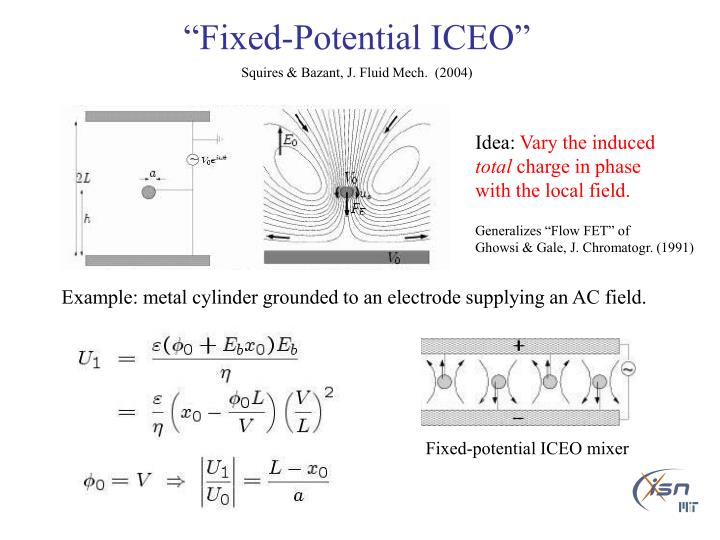 """Fixed-Potential ICEO"""