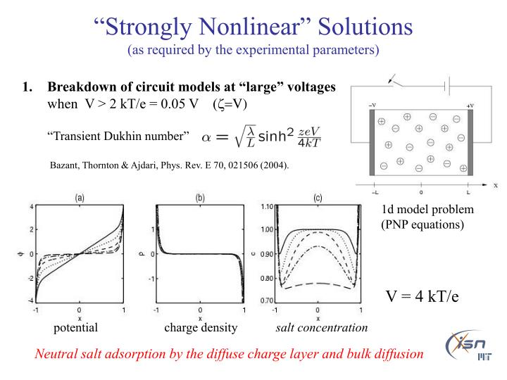 """Strongly Nonlinear"" Solutions"