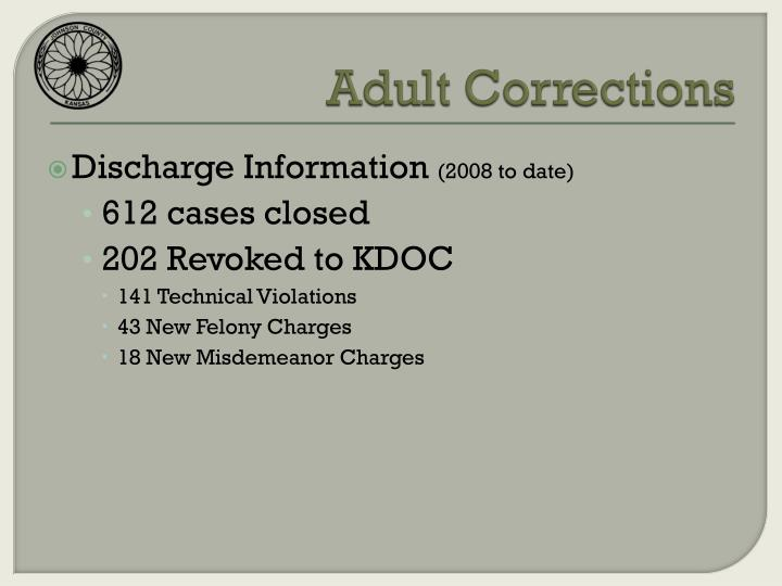 Adult Corrections
