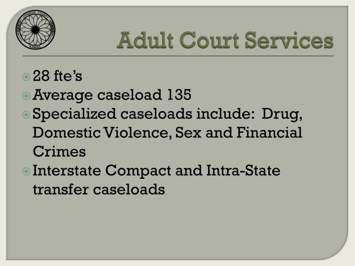Adult Court Services