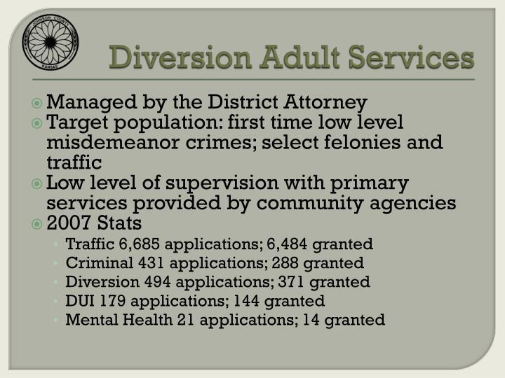 Diversion Adult Services