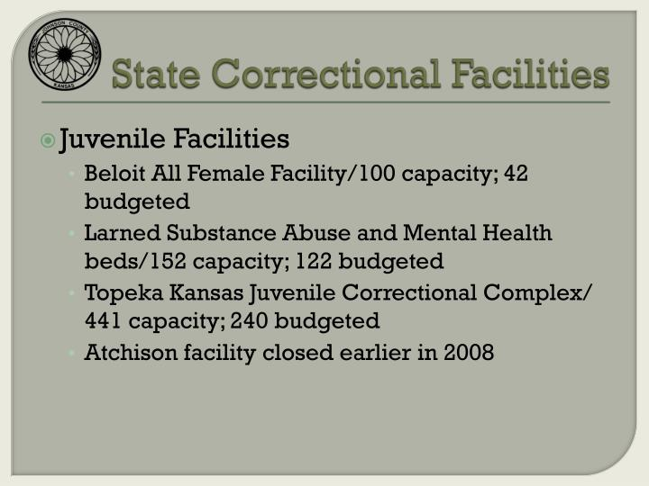 State Correctional Facilities