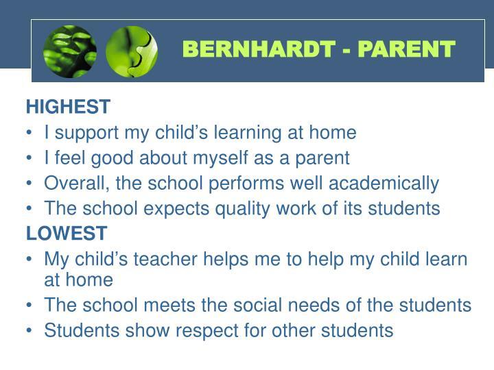 BERNHARDT - PARENT