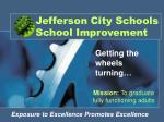 jefferson city schools school improvement