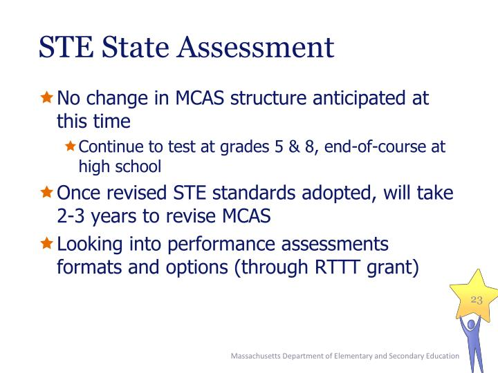 STE State Assessment