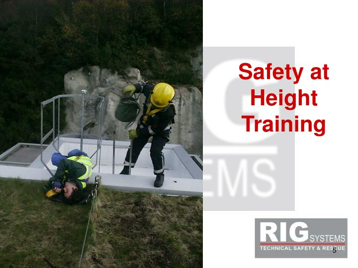 Safety at Height Training