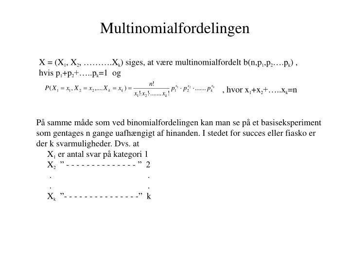 Multinomialfordelingen