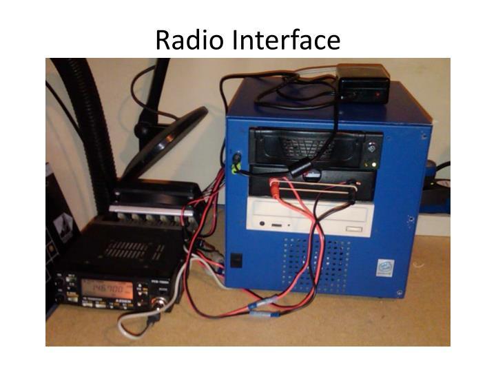 Radio Interface