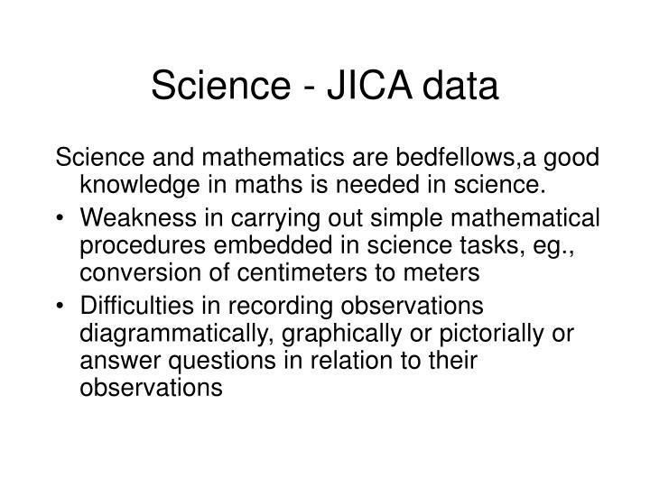 Science - JICA data