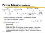 power triangle revision