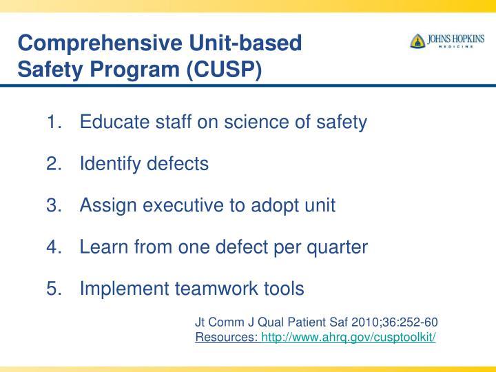 Comprehensive Unit-based