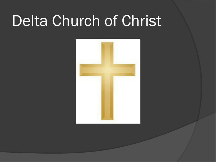 Delta Church of Christ