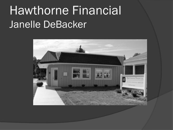 Hawthorne Financial