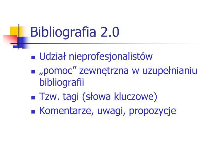 Bibliografia 2.0