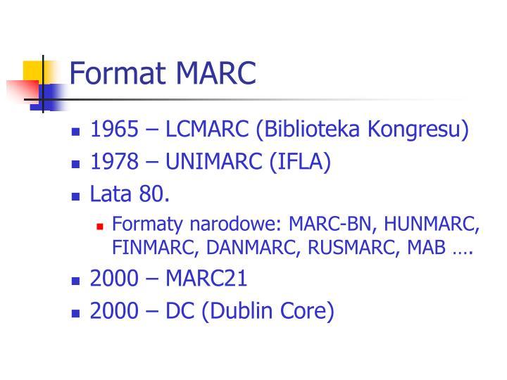 Format MARC
