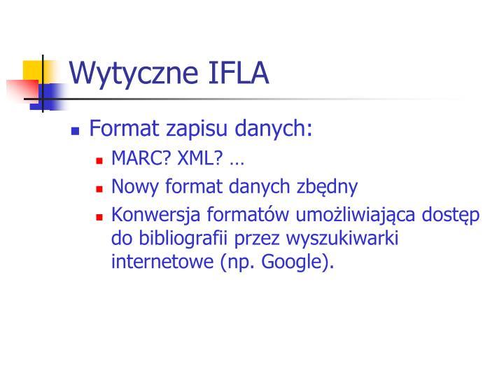 Wytyczne IFLA