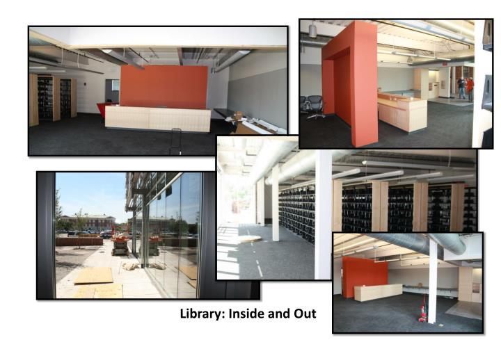 Library: Inside and Out