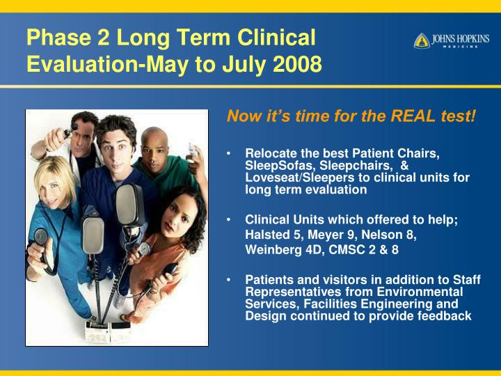 Phase 2 Long Term Clinical
