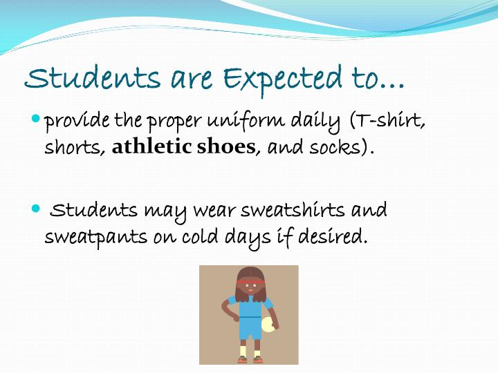 Students are Expected to…