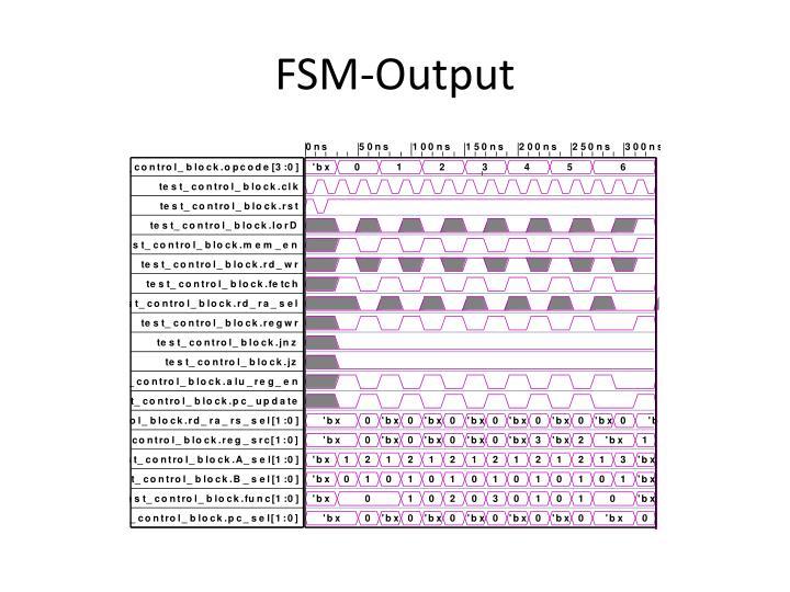 FSM-Output