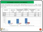 programme 4 financial performance