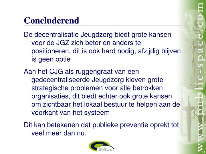 Concluderend