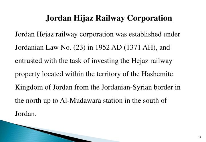Jordan Hijaz Railway Corporation