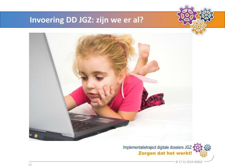 Invoering DD JGZ: zijn we er al?