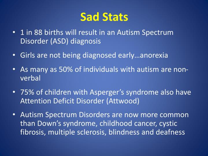 Sad Stats