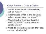 quick review grab a clicker