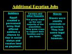 additional egyptian jobs