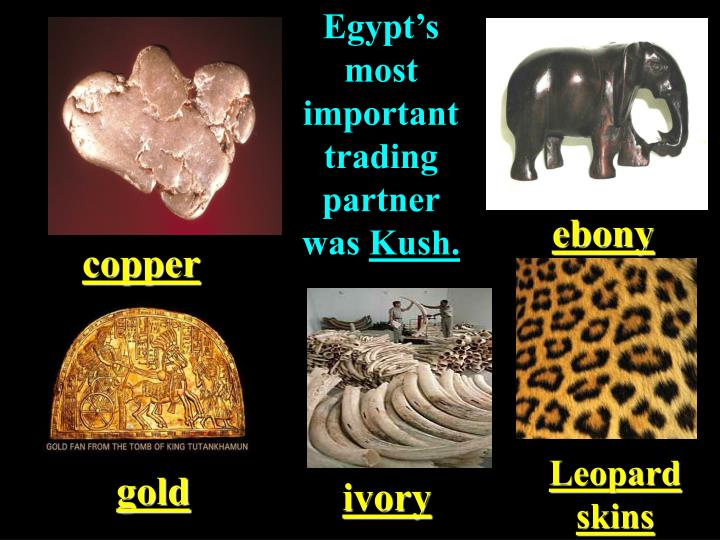 Egypt's most important trading partner was