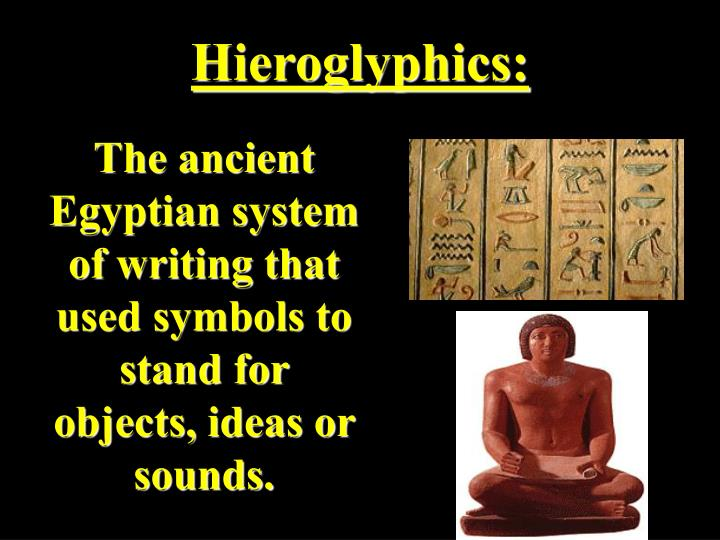 Hieroglyphics: