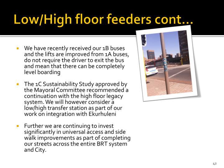 Low/High floor