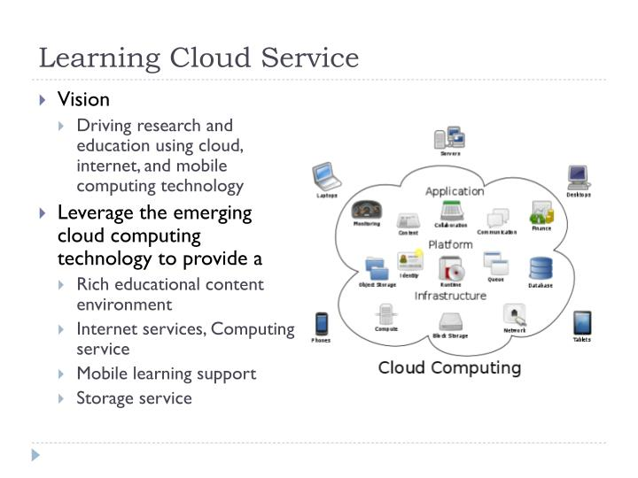 Learning Cloud Service