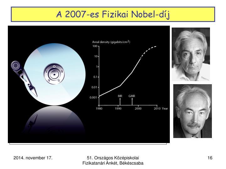 A 2007-es Fizikai Nobel-díj