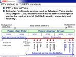 iptv defined in itu iptv standards