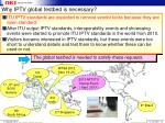 why iptv global testbed is necessary