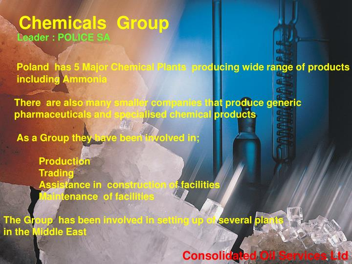 Chemicals  Group