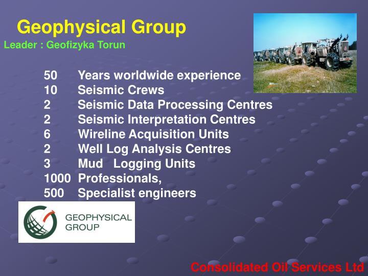 Geophysical Group