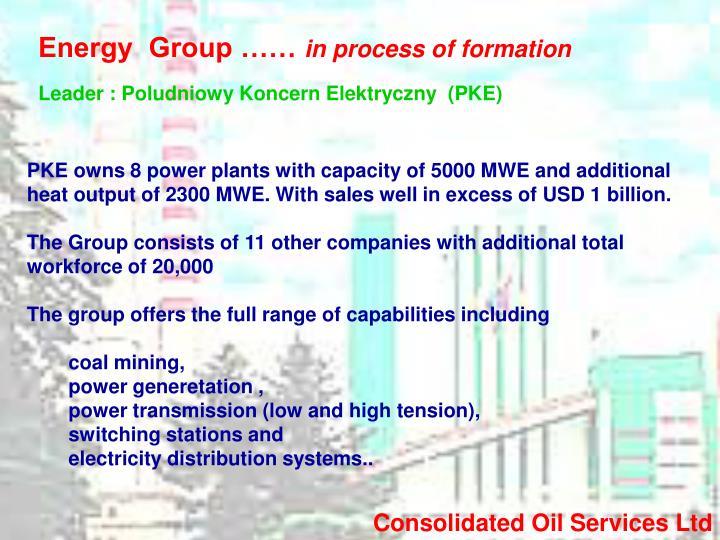 Energy  Group ……