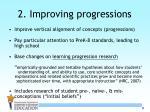 2 improving progressions