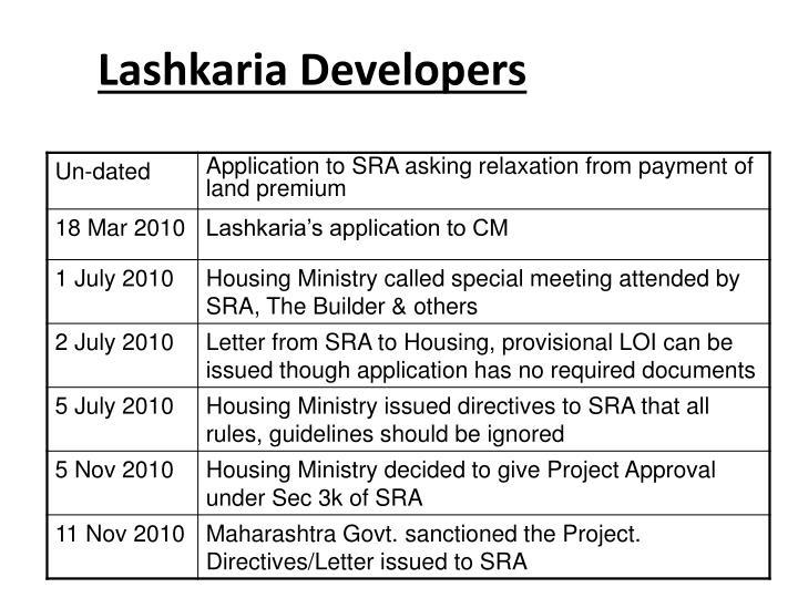 Lashkaria Developers