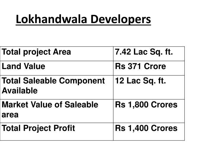 Lokhandwala Developers